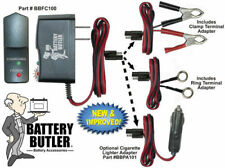 Battery Butler 12V Storage Maintenance Charger WITH Power Plug Adapter 2PC KIT