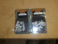 Warhammer 40K Praetorian Guard Auto cannon(2 Packs!) - Rare OOP - Imperial