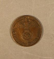 1936J Germany Third Reich Pfennig Extra Nice      ** FREE U.S SHIPPING **