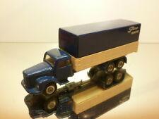 TEKNO HOLLAND SCANIA VABIS 76 TRUCK - TRANSPORT - BLUE 1:50 REPAINTED - GOOD