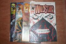 Image Comics Wildstar 1-4 Comic Collection. Job lot, bulk run