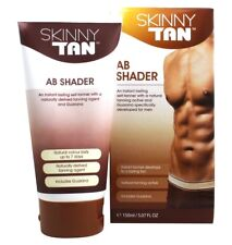 Skinny Tan AB Shader, Medium bronze streak-free self-tanner 150mL - Vegan