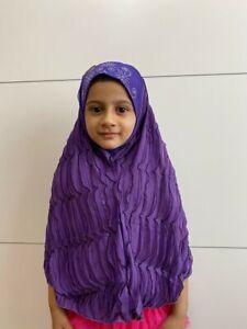 Muslim ladies scarf catholic women headcover girls wedding Applic EID hijab UK