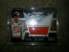 2010 Five Star Signature Souvenir #SS-MT auto.JOEY LAGANO w/race-used  #d 18/50