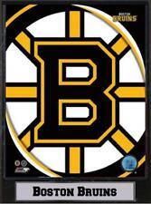 Boston Bruins Logo Photo Murale Bois 30 CM, Plaque NHL Hockey sur Glace, Neuf