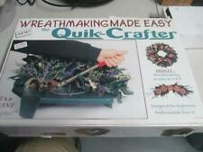 QUIK CRAFTER WREATH MAKER MACHINE KIT SYSTEM ALL SEASON