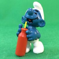 Durstiger Schlumpf Smurf Schtroumpf Puffi Schlümpfe #11-184