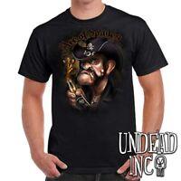Lemmy Kilmister Motorhead - Mens T Shirt