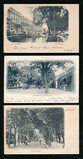 Gloucestershire CHELTENHAM x5 1901-03 u/b PPCs