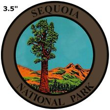 Explore Sequoia National Park Embroidered Patch Iron / Sew-On Souvenir Nature