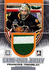 2013-14 Between the Pipes Jersey Silver #13 Francois Tremblay