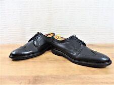 Paul Smith Hombre Zapatos Oxford UK 11Us 12 Eu 45 Cuero Hecho en Italia Negro