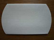 Pillow Boxes, Ivory x 20 for Favours, Gifts, Jewellery