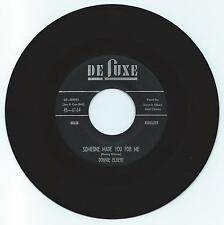 DOO WOP 45 DONNIE ELBERT SOMEONE MADE YOU FOR ME ON DE LUXE VG+ ORIGINAL
