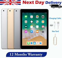 "Apple iPad 5th Generation 32GB/128GB 9.7"" Retina WiFi, Cellular All Colours 2017"