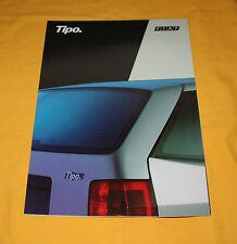 Fiat Tipo 1988 (CH) Prospekt Brochure Depliant Prospetto Catalog Folder