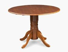 "M&D Furniture 42"" Burlington Dinette Dining Kitchen Table w/ Drop Leaves Brown"