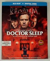 Doctor Sleep. Blu-ray + Digital. Brand New. W/Slipcover.
