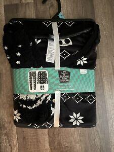 NWT Nightmare Before Christmas Jack Pajamas 3 Piece Set Size 3X (22-24W)