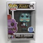 Funko Pop! Funko #05 Sike-O-Shriner (Teal) Funko Exclusive W/Pop Protector
