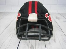 Build a Bear Workshop Football Helmet Black and Red Paw Print Design