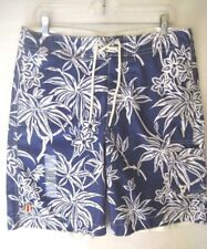 Polo Jeans Ralph LaurenMen's size Small Bathing Suit Swim Trunks Blue NEW