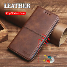 For Samsung Galaxy A01 M01 Core Magnetic Leather Wallet Card Flip Case Cover