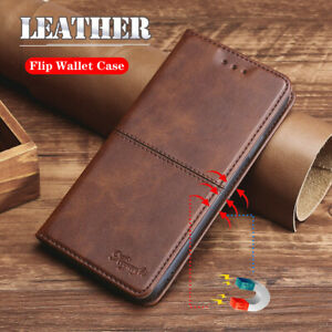 For Motorola Moto Edge Luxury Magnetic Leather Wallet Card Flip Case Cover Stand