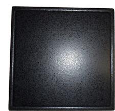 megrill 485x485mm pietra e pietra per pizza con succo Groove p40-485x485x17r