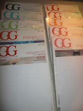 10XHäuser GG19/ 18/ 17/16 /15 Zeitschriften Sammlung  Luxus Immobilien Frankfurt