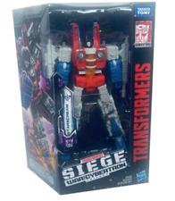 Transformers Generations War for Cybertron: Siege Voyager WFC-S24 Starscream NEW