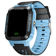 Kids Children Waterproof GPS Tracker SOS Call Smart Watch Camera For Smart Phone