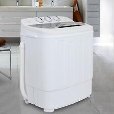 13lbs Quality Twin Tub Washing Machine Washer Spin Dryer Portable Mini Compact