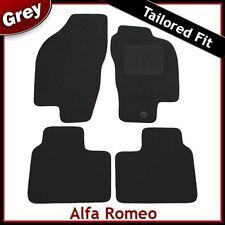 Alfa Romeo 156 Sedán Alfombra ajustada a la medida Alfombrillas De Coche Gris