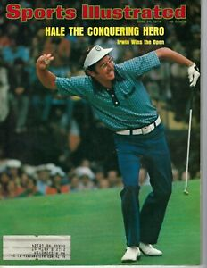 1974 6/24 Sports Illustrated magazine golf Hale Irwin U.S. Open Winged Foot GOOD