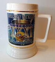 Green Bay Packers Super Bowl XXI Champions Tankard 1997