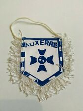 AJ Auxerre AJA fanion vintage foot football pennant wimpel banderin