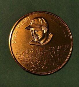 1966 St Louis Cardinals Busch Immortals Coin  STAN MUSIAL