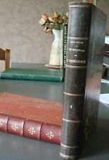 LES MERVEILLES DE L'INDUSTRIE 1880  Louis FIGUIER TOME 1 Le Verre et le Cristal