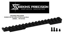 Seekins Rail Scope Base - 0 MOA #6 screws for Remington 700 LONG Action
