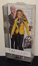 Tim Gunn Barbie Doll #1 NRFB #W3470 Blonde Hair, Yellow Jacket, Black Jeans