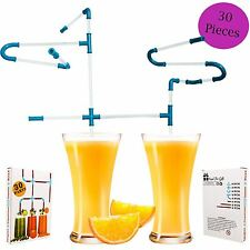 Kids Straws Diy Pipe Gift For Child Boy Girl Party Christmas Birthday Game Prize