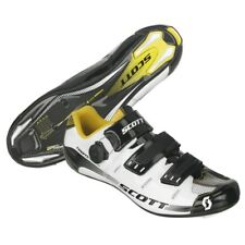 Scott road team issue cycling shoes 47 (12.5) boa L5 lacing stiff 9 carbon sole