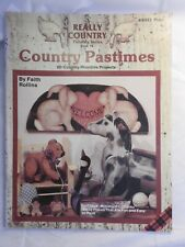 Really Country Series #10 Country Pastimes folk art tole painting pattern #8331