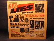 "GUNS N' ROSES ""G N' R LIES"" LP 1988 GEFFEN RECORDS R 100805 CLUB SHRINK INNER"
