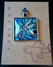 Dragonfly pendant tibetan silver style A