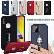 For Samsung Galaxy A50 A70 Note 10 + Anti-fall TPU+PC Rear Case Ring Stand Cover