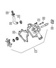 Genuine Mopar Water Pump Bypass Hose 53008654