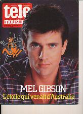 TELEMOUSTIQUE 3050 (12/7/84) MEL GIBSON JACQUES DUFILHO TC MATIC FABBRI BERENSON