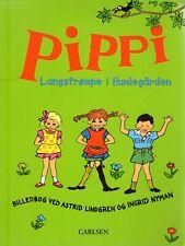 Astrid Lindgren DÄNISCH, Pippi Langstrumpf Langstrompe im Park i Humlegarden